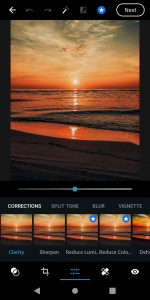 Adobe Photoshop Express photo editing free