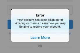 Instagram Permanent Action Blocked