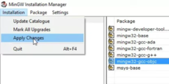 install MinGW w64 compiler on Windows 10