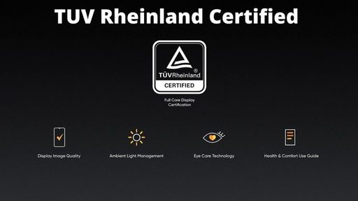 What is TUV Rheinland Eye Care Certification?