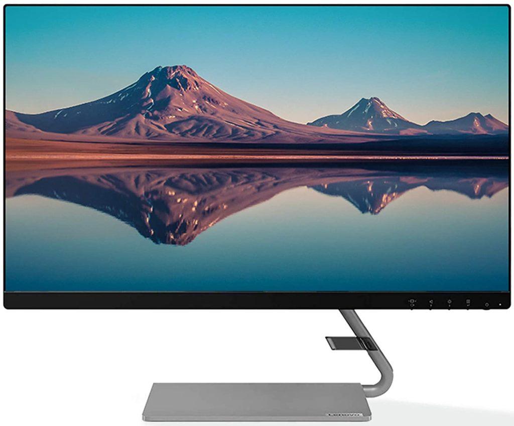 Lenovo L-Series 23.8 inch (60.5cm) FHD IPS Ultraslim Monitor